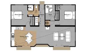 genius 2 bedroom prefabricated houses