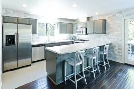 Modern Kitchen Cabinets Los Angeles Houzz Grey Kitchen Cabinets Ctpaz Home Solutions 4 Mar 18 01 50 47