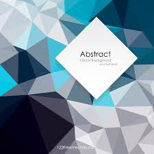 Blue Pattern Background Polygonal Dark Blue Pattern Background Design 123freevectors