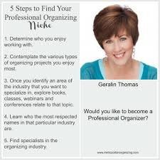organizing business finding a niche tips for professional organizers
