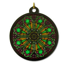 stained glass ornaments steelberry