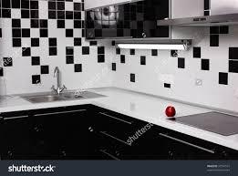 modern kitchen elegant black and white kitchen design ideas black