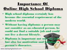 is online high school avail better opportunities with online high school diploma