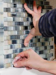 How To Install A Mosaic Tile Backsplash In The Kitchen by How To Install A Tile Backsplash How Tos Diy