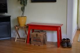 simple entryway bench fox and hammer