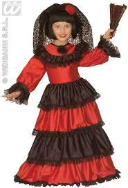 costume child fancy dress costume girls spanish