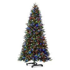 pre lit christmas tree 7 1 2 foot aspen grow stow pre lit christmas tree jcpenney