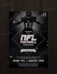 get free nfl football u2013 free sport psd flyer template photoshop