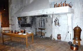 living the life in saint aignan a restored kitchen at chambord