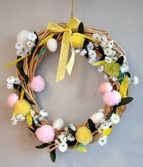Easter Door Decorations Uk by Children U0027s Crafts Make Your Own Easter Garland Marmalade Pie