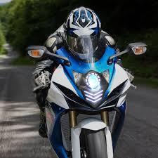 kt headlight for suzuki gsxr600 gsx r600 2011 2017 led blue drl
