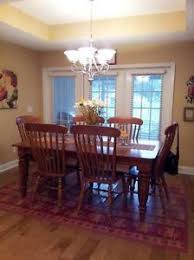 Bobs Furniture Dining Table Bob Timberlake Lexington Cherry Dining Room Table 4 Windsor Chairs