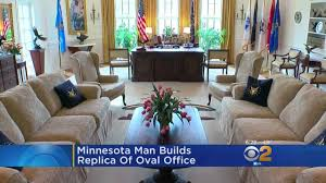 man builds replica of the oval office youtube