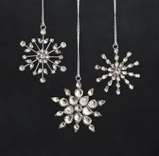 snowflake glass ornaments restoration hardware i will order