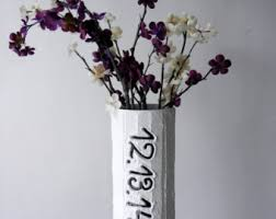 Personalized Flower Vases Handcrafted Vases By Carriageoakcottage