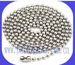 stainless ball chain necklace images 33 best metal ball chain images ball chain chains jpg