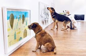 dominic wilcox curates contemporary exhibition for dogs