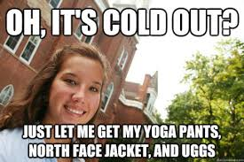 North Face Jacket Meme - how to tell if you re basic smosh