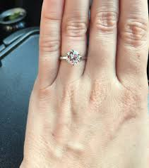 2mm ring solitaire with 2mm band