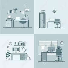 jeu de travail au bureau bureau table de travail de la chambre chaise jeu intérieur intérieur