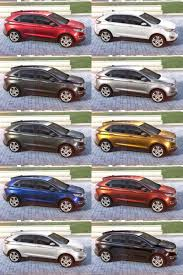 lexus suv 2016 colors 2015 ford edge visualizer all 10 colors from every angle