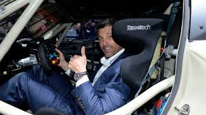 lexus on robertson in beverly hills patrick dempsey james corden turn out for l a auto show