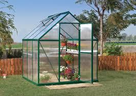 Palram Lean To Greenhouse Palram Nature Greenhouse U0026 Reviews Wayfair