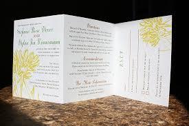 tri fold wedding invitations tri fold wedding invitations blueklip