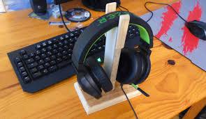 comment fabriquer un bureau en bois comment fabriquer un support pour casque