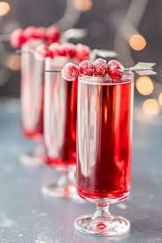 sugared cranberry mimosas only three ingredients easy