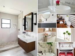 bath remodeling ideas for small bathrooms before and after bathroom remodels on a budget hgtv