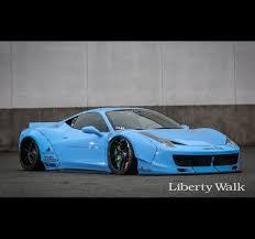 Ferrari F12 Liberty Walk - liberty walk lb performance ferrari 458 works lip spoiler complete