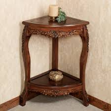 Pedestal Accent Tables Nice And Clean Look Corner Accent Table U2014 The Home Redesign