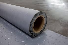 a garage floor in just an instant garageflooring roll out