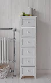 White Bathroom Storage Cabinet Narrow Bathroom Storage Cabinet Impressive Bathroom