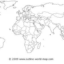 outline of world map world map outline pdf map of usa