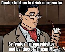 Sterling Archer Meme - doctor told me meme alter ego pinterest meme sterling