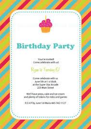 birthday party invitations birthday template invitation safero adways