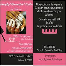 simply beautiful nail spa home facebook