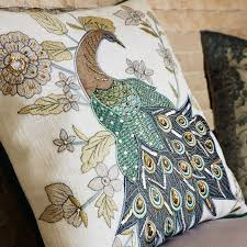 Pier One Peacock Pillow by Glacier Bay Royal Peacock Pillow Pier 1 Imports