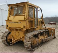 1974 caterpillar d6c dozer item e8464 sold april 11 con
