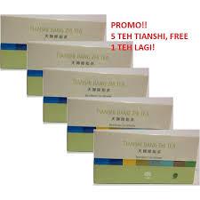 Teh Jiang promo tiens jiang zhi tea teh pelangsing isi 20 daftar update