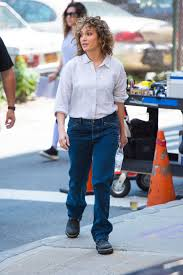 jennifer lopez on the set of shades of blue in new york 06 19 2017