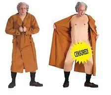 frank flasher costume dirty man funny halloween