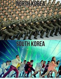 Meme Vs Meme - north vs south korea meme gangnamstyle other pinterest meme