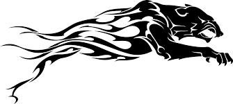 black panther tribal designs jackal tribal panther