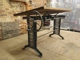 Industrial Drafting Table Oak Drafting Tables Foter