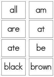 words cards dolch sight words flash cards primer