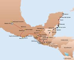 Mexico Map Cancun by Hop On Hop Off Bus Pass Mexico Cancun