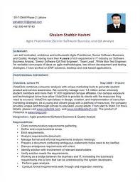 ba resume format example of system analyst resume business systems analyst resume
